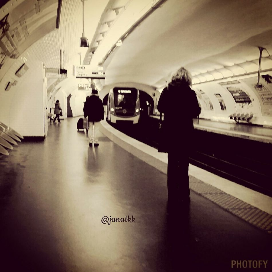 The Places I've Been Today Subway Station Ternes Paris