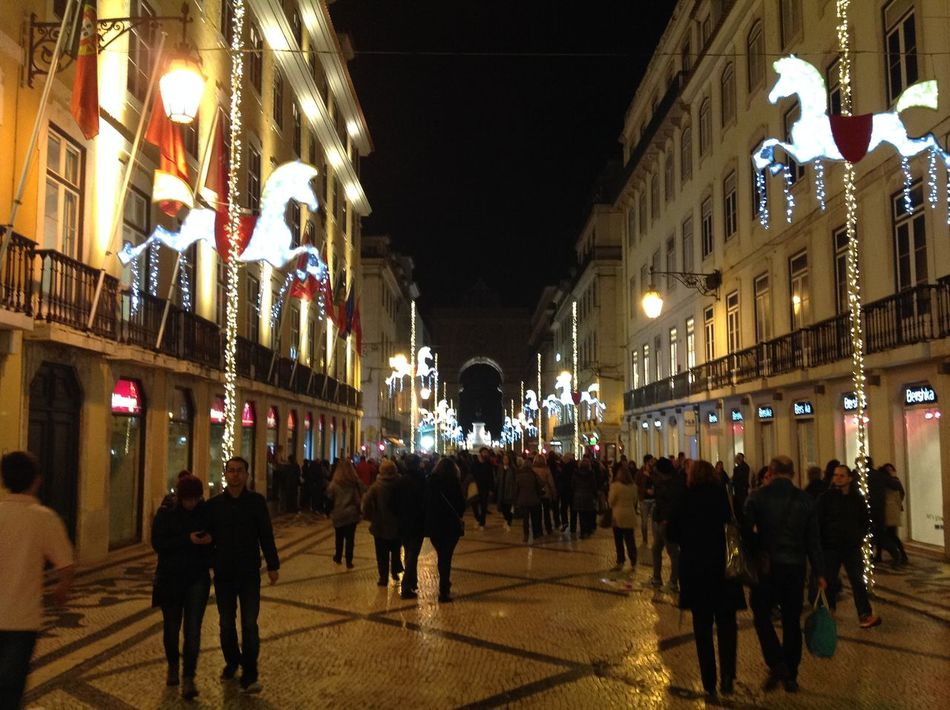 Pre-holiday streets City, Night City Decorations Holiday Season Holidays Illuminations Life Travel, Holidays