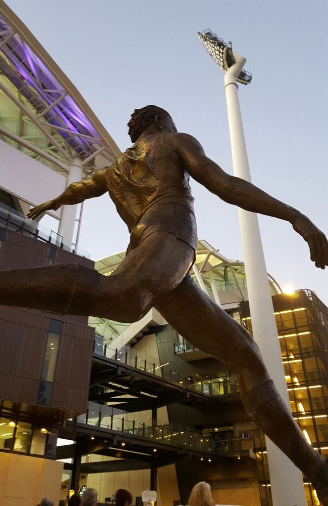 Adelaide Oval South Australia Statue Sport Aussie Rules Stadium