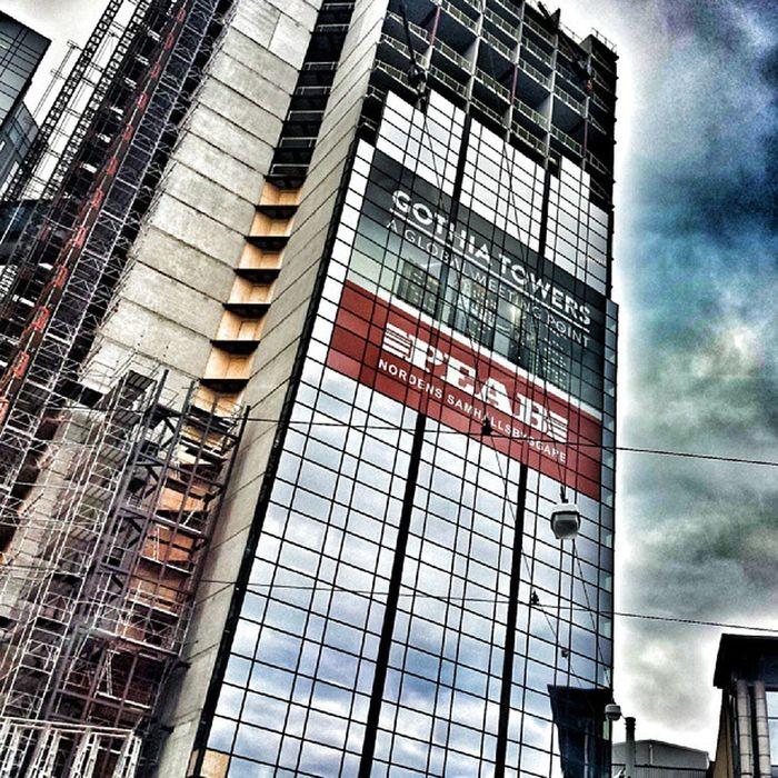 GBG G öteborg Hotell Glas moln himmel city sky clode höst höstdag internationalpictures