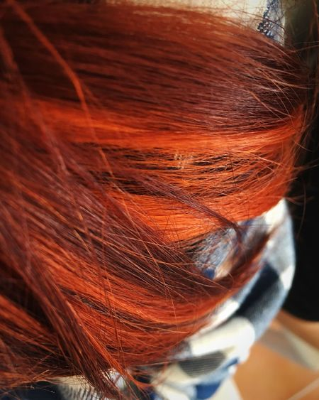 That's My Hair Colors Red Red Hair Close-up Art Hair Art Colorful Hair Hairstyle Different Colors Different Colours And Shades Copper  Copper Art Copperhead Red Color Redhead Original Real Hair Hair Style ThatsMe Lock Glint Red Lock In Love