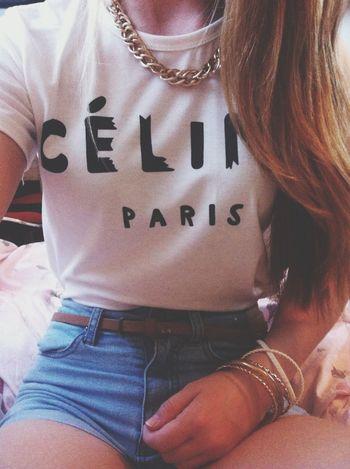 Celine Paris Shirt Fashion