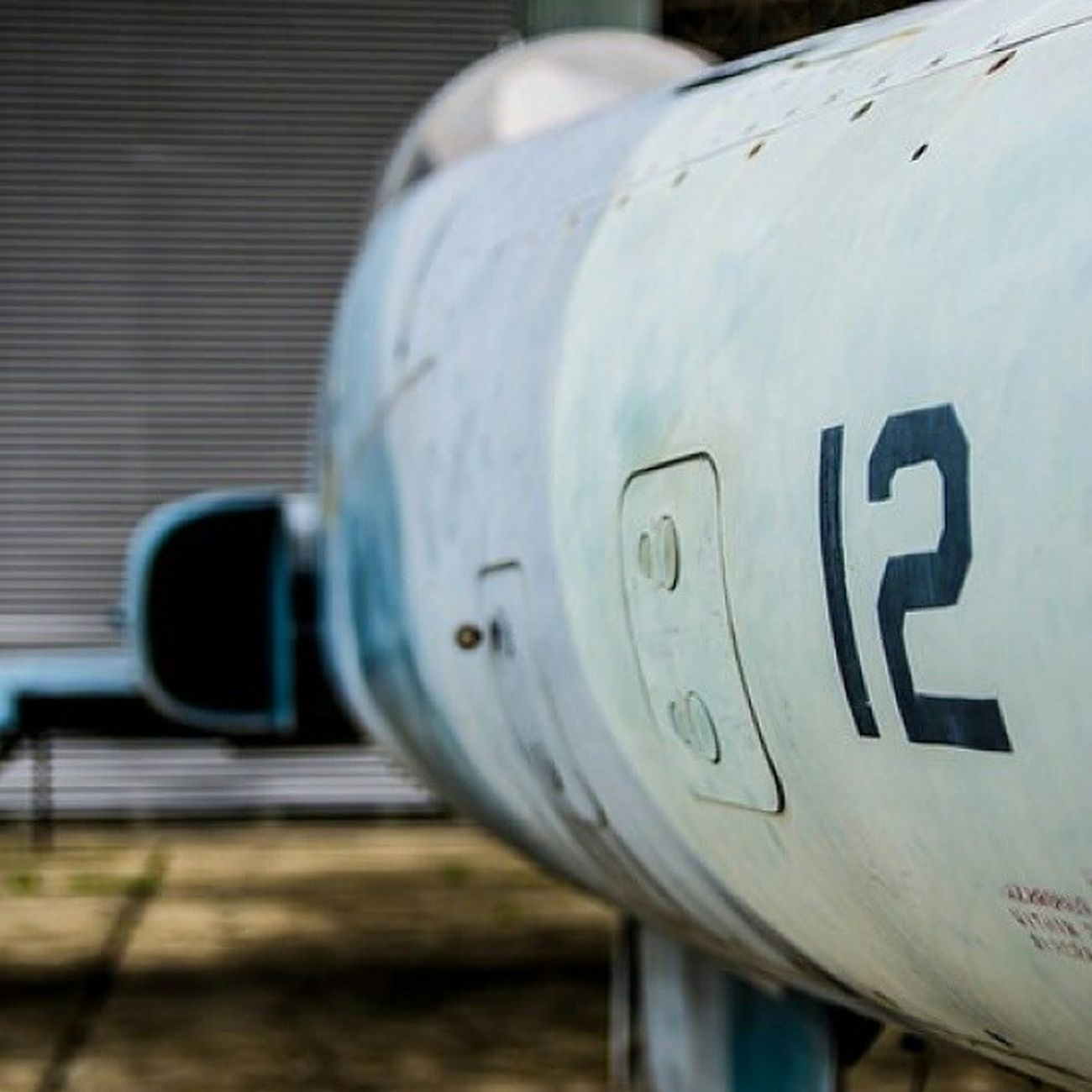 Planes Airforce Aircraft Tudm Malaysia Museum Old Rusty Outdoor Bokeh
