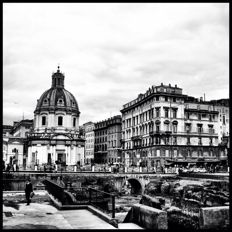 blackandwhite at Italy by Adriana