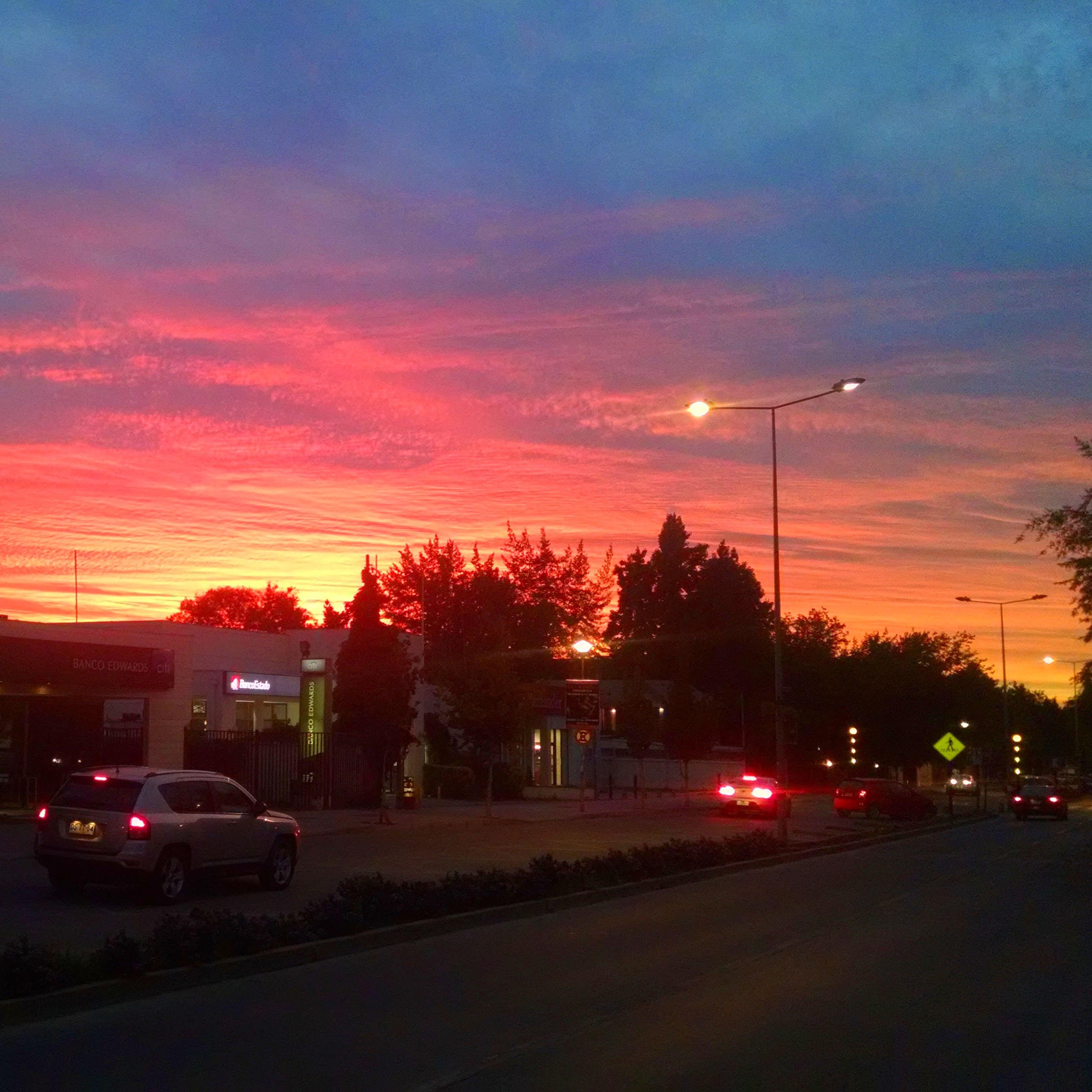 Sinfiltro Sunset Santiago Chile First Eyeem Photo