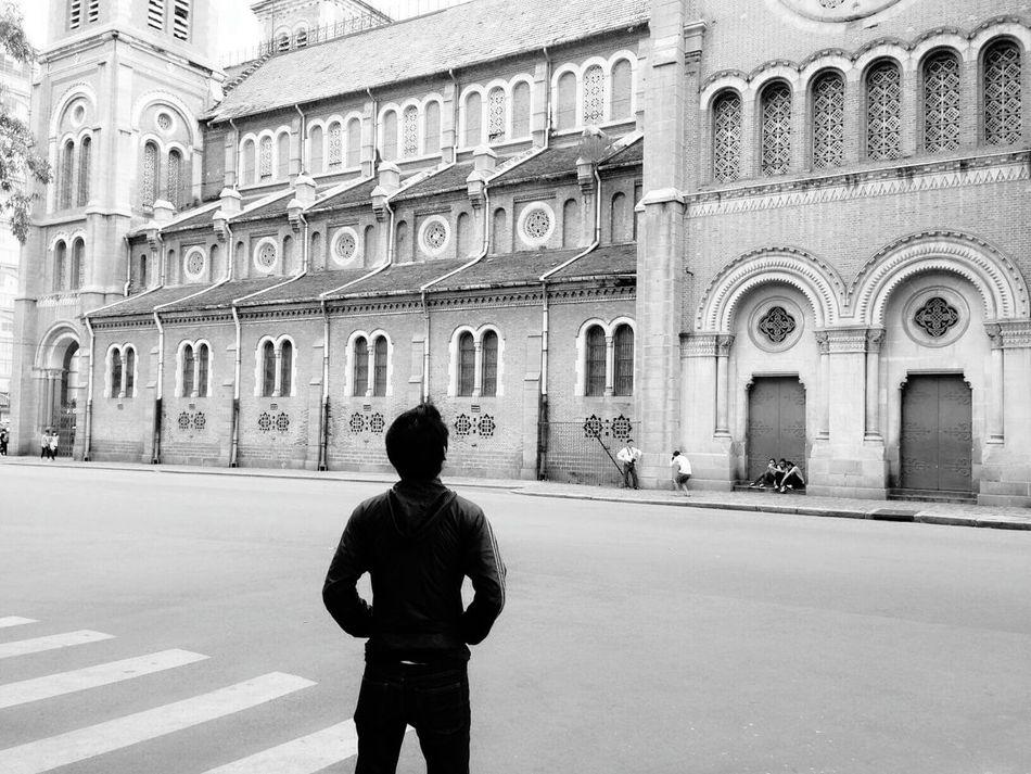Saigon Saigon, Vietnam Church Nhathoducba Lonely Day