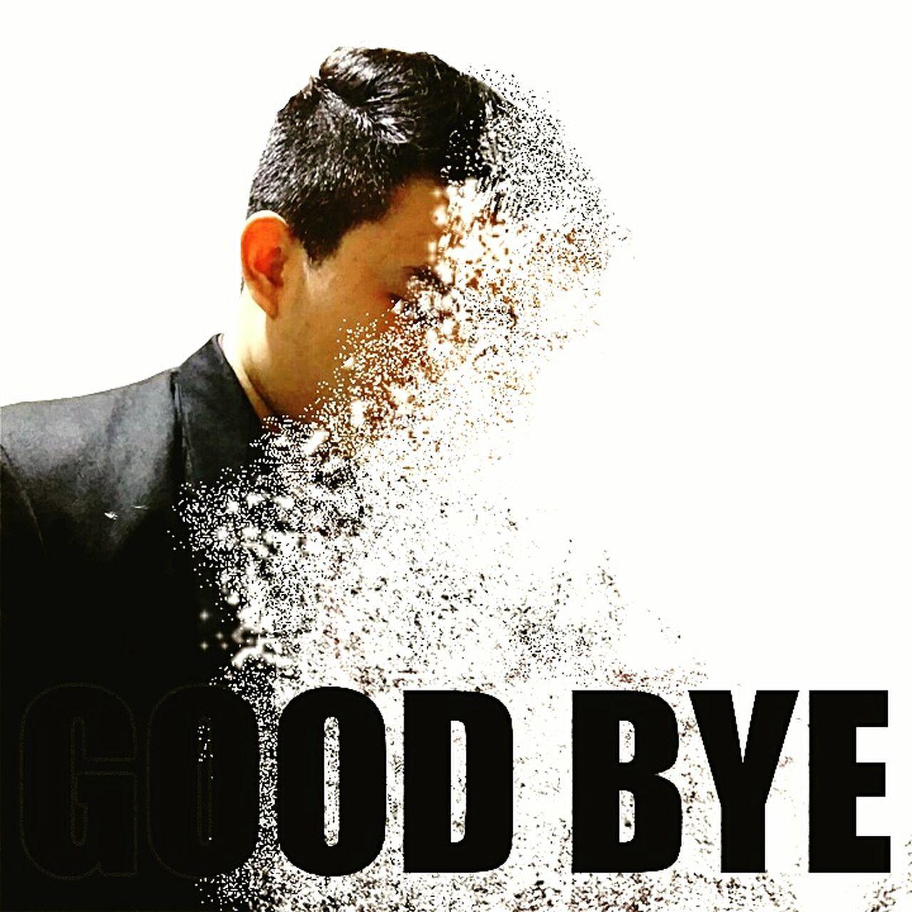 disigeneration from me Disintegration Studio Shot White Background Goodbye Me Men First Eyeem Photo