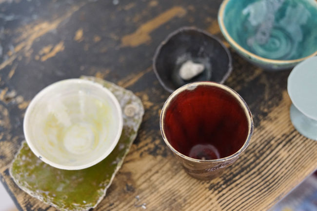 Art Ceramics Colored Ceramics Earthenware Hobby Pottery Pottery Art Selfmade