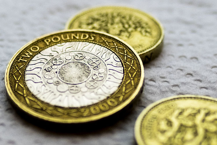 2 pound coin £2 Two Pound Coin Close-up Currency Finance Gold Colored Indoors  Financial Item Coin Texture Contrast Camden Penny Life Take Care Of The Pennies LOL Love This Lens FUJIFILM X-T1 Fuji 16mm F1.4 Bokeh