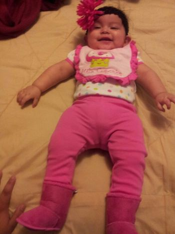 my baby girl so big already :)