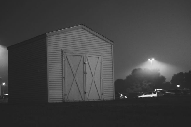 A Day In The Life Americans Architecture Built Structure Film Noir Fourth Of July Glowing Iconic Illuminated Independenceday Light MidWest Nebraska Night No People Photo Essay Shed Small Town USA