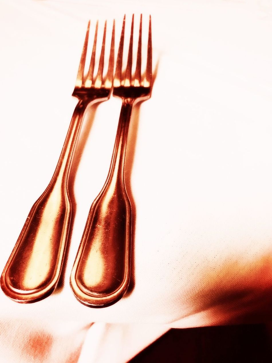 Table Close-up No People Food Indoors  Day EyeEmNewHere Art Is Everywhere Fork Silverware  Flatware Still Life Meal Twins