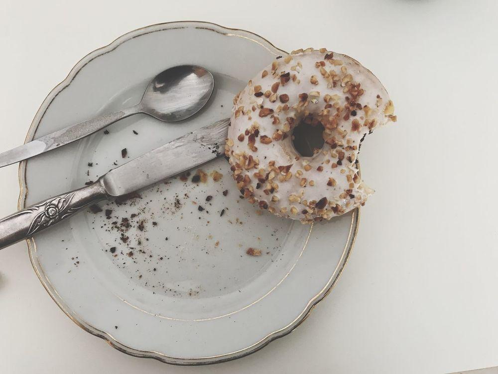 Food Still Life Doughnut Breakfast