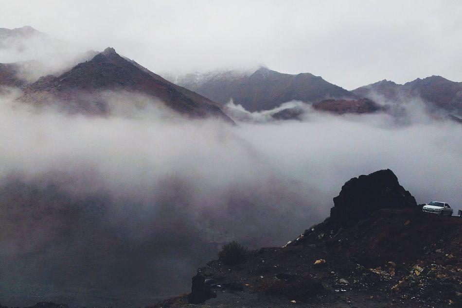 Foggy Day Fog_collection Foggy Weather Foggy Mountains Mountains Mountain View Mountain_collection Mountains And Sky Mountain Road Hamadan Iran Iran♥ I Love Iran