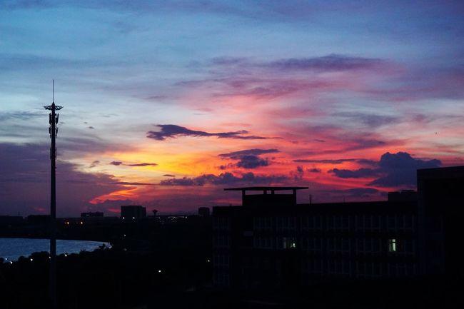 彩霞 Sunset Hello World Enjoying Life