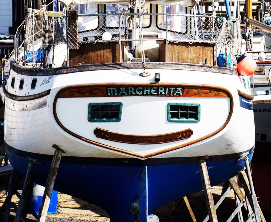 Happy Boat Nautical Vessel Outdoors Day No People Boat Deck Helm Happy Smille