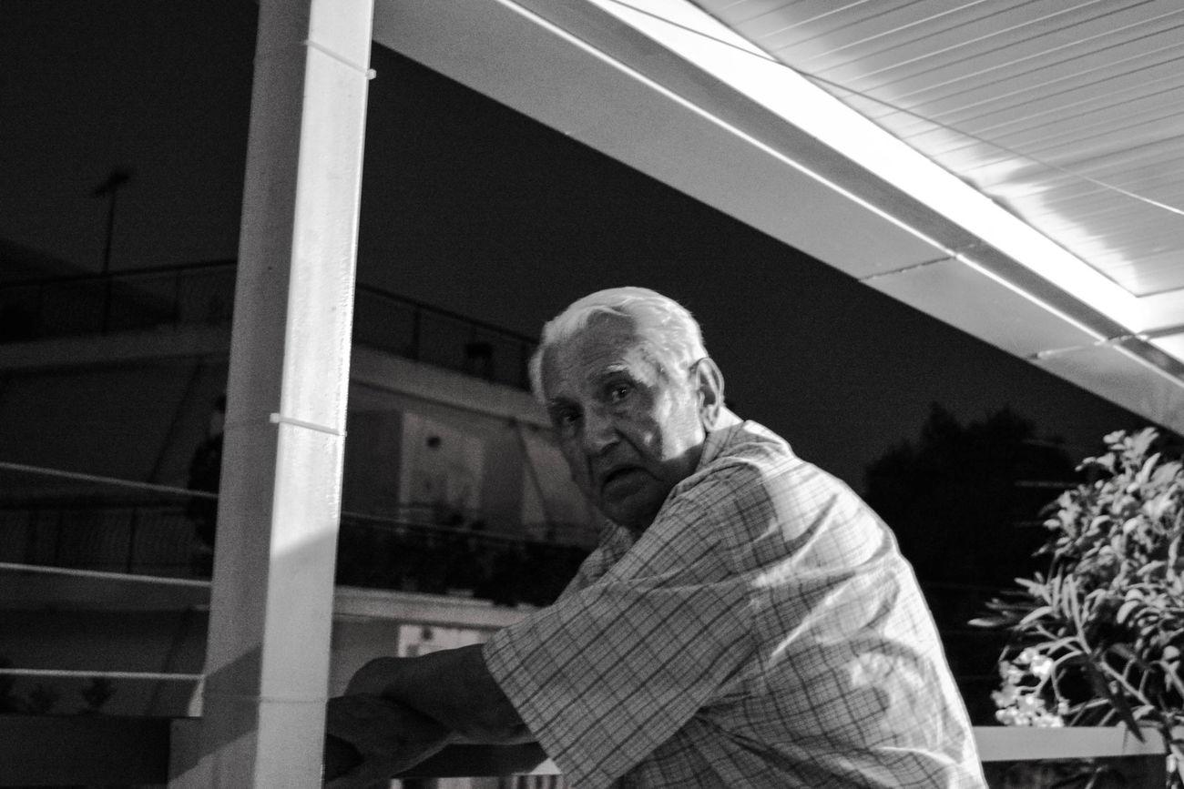 Grandfather Love Oldman Portrait
