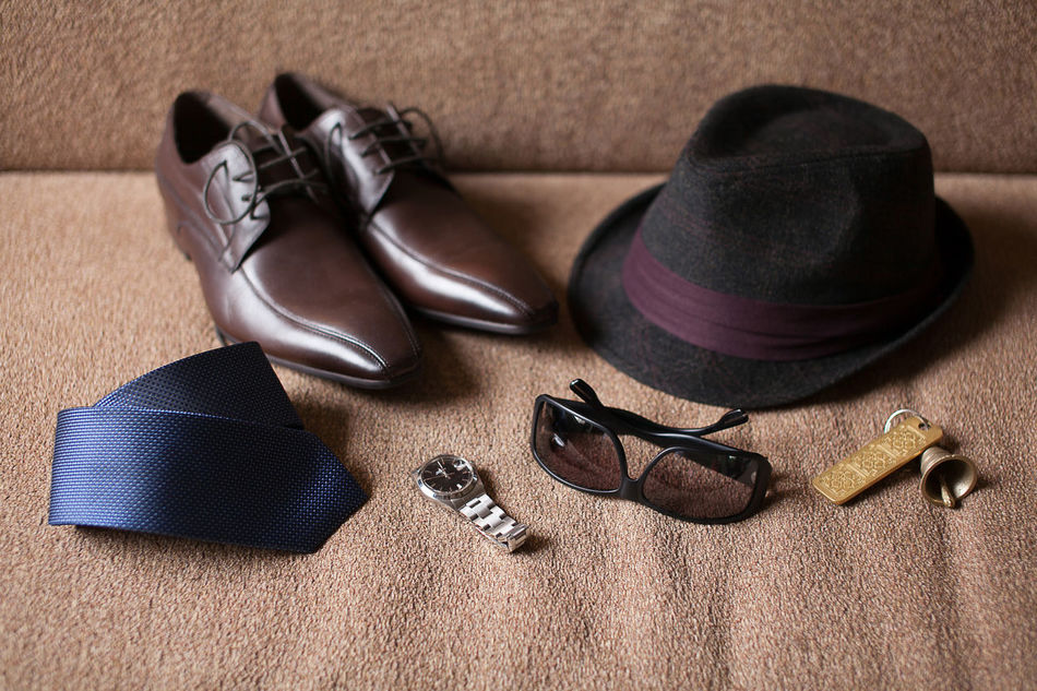Men's accessories Accesories Businessman Close-up De Fashion Hat High Angle View Indoors  Key Leather Leather Shoes Man Man Made Object No People Retro Shabby Smartphonephotography Still Life Table Tie Trend Trendy Vintage Watch