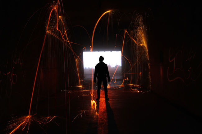 That's Me Luminance Fire Steelwool Tunnelvision
