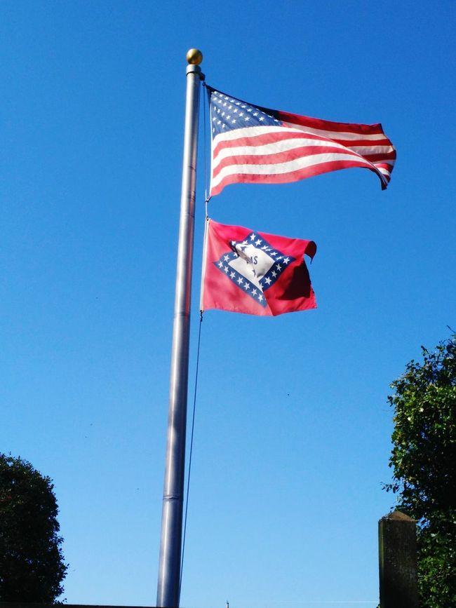 Arkansas Flag US Flag Us Flag. Stars And Stripes Photography In Motion