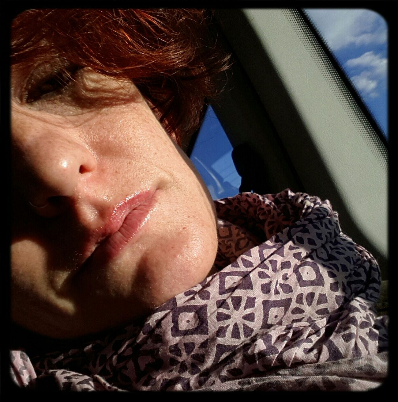 sun on my face Me Selfportrait Ontrip