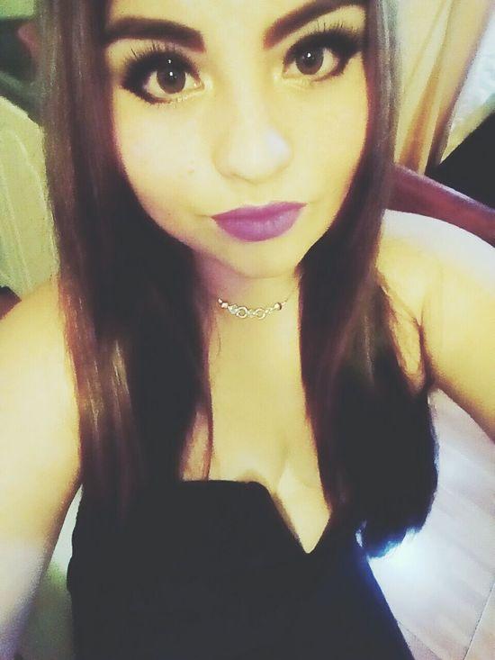 Selfie ✌ Hi! Enjoying Life That's Me Party Time Beautiful Night Big Eyes Princess She Looks So Perfect