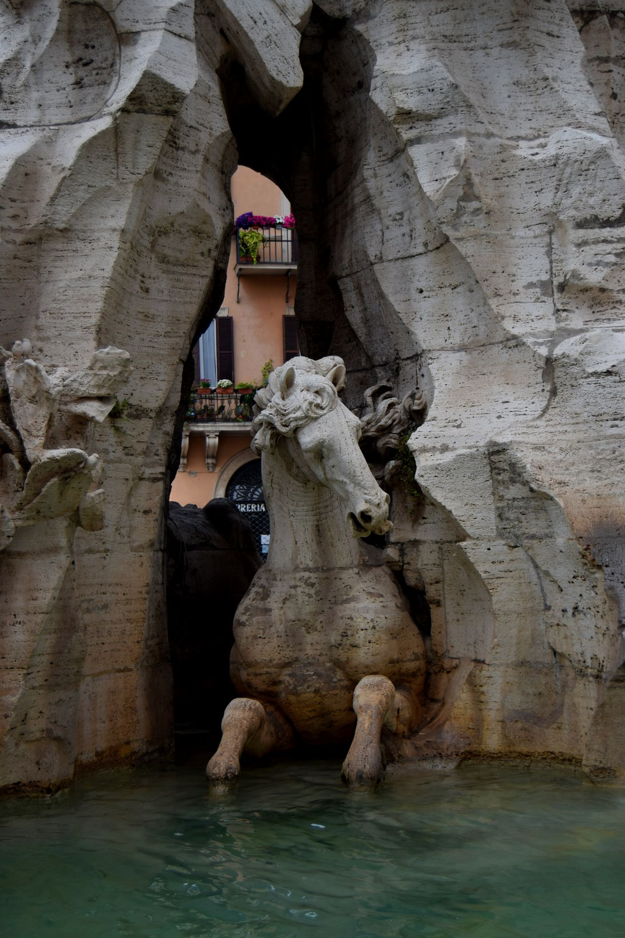Italy🇮🇹 Roma Rome Fountain_collection Streetphotography Exploring Photography Sculpture Piazza Navona Monument Art And Craft Outdoors Statue Walk Creativity Marmol The Week Of Eyeem Newtalent Sculpture Mastery Human Representation Center Picoftheday Photographer Photooftheday Famous Place