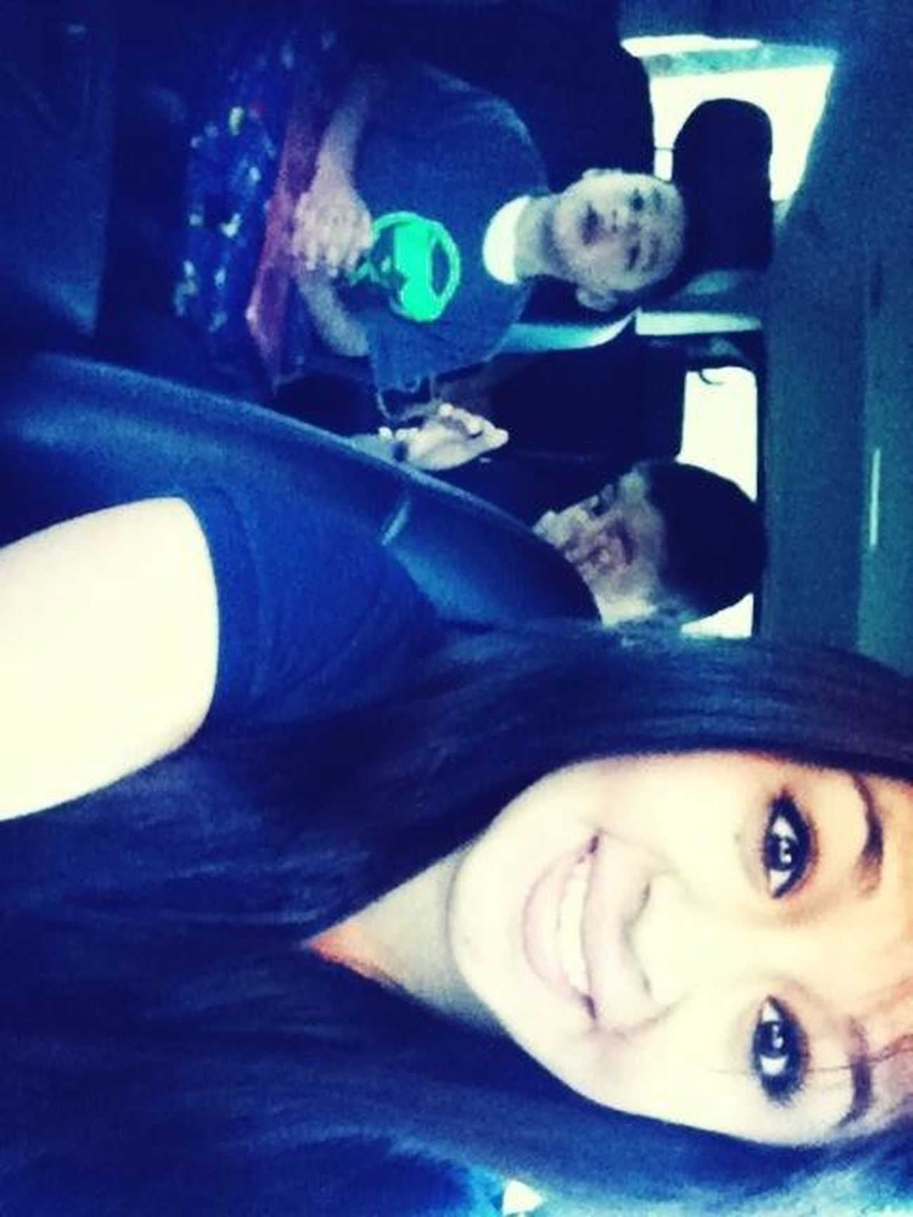 Me And My Boogers Going To School(: