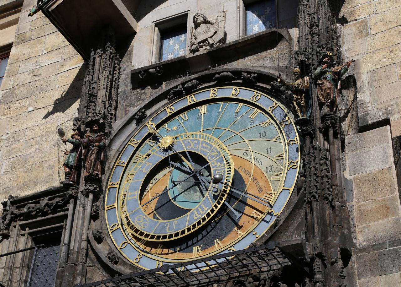 Beautiful stock photos of prague, building exterior, time, clock, architecture
