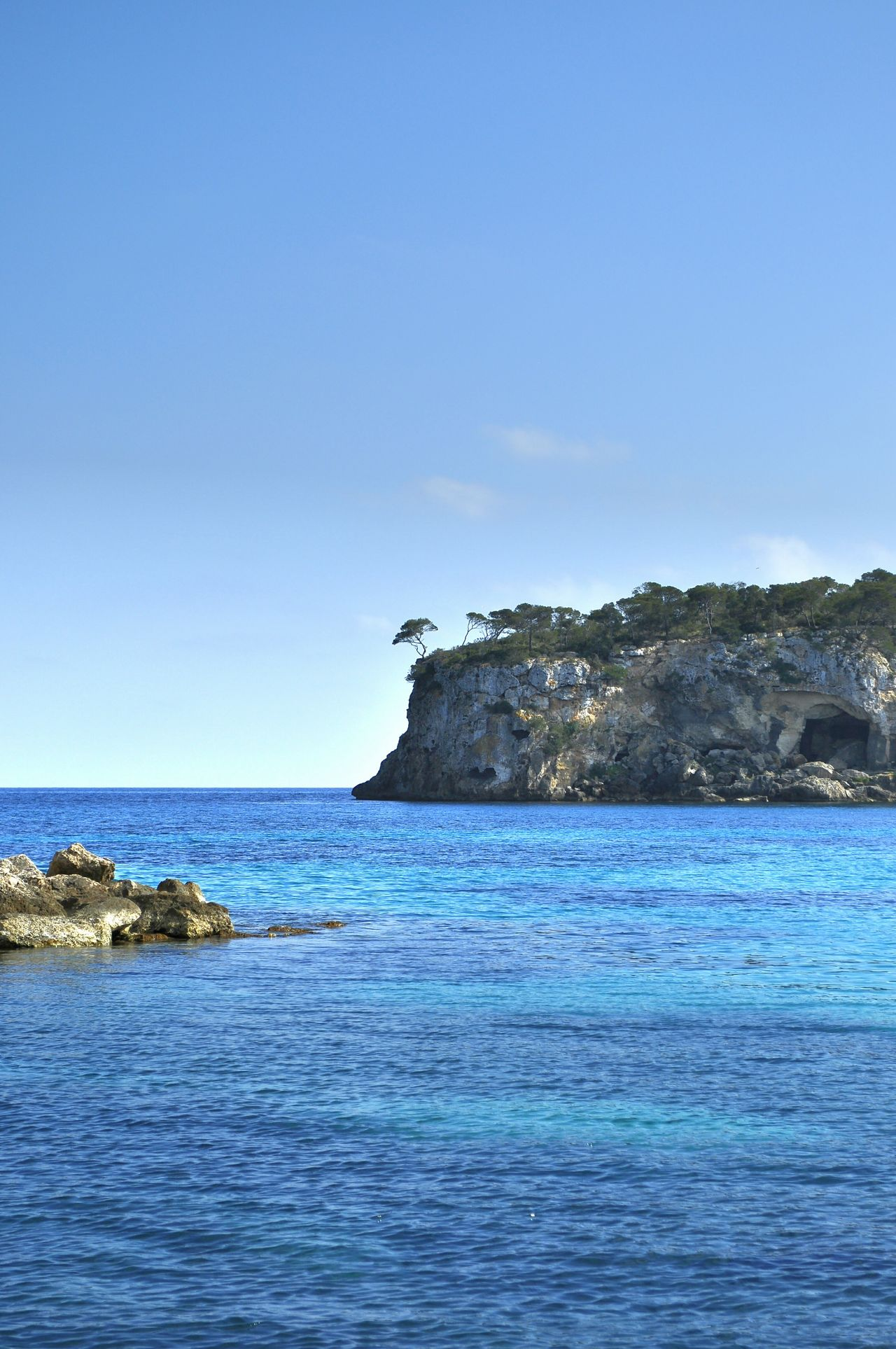 Mallorca Chrixxo Sea Blue Scenics Water Landscape Tranquility Outdoors No People Beauty In Nature Horizon Over Water Beach Day Nature Sky