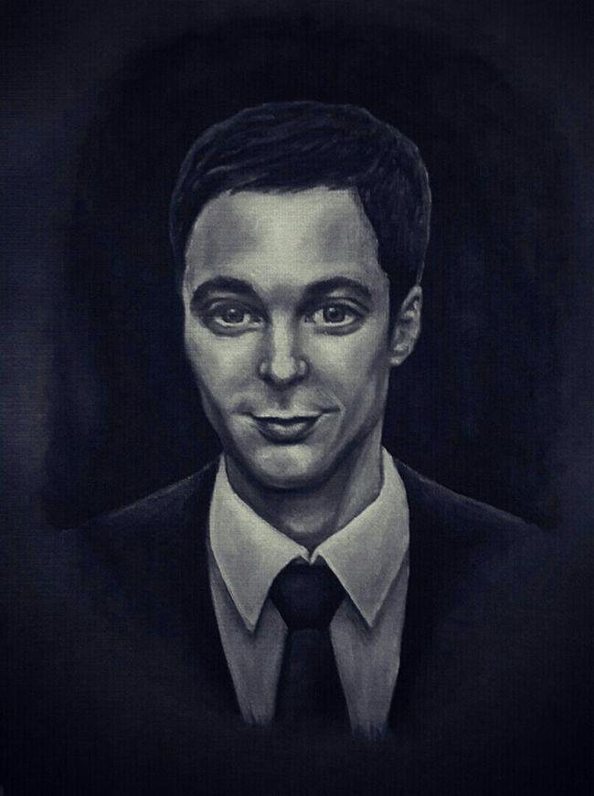Eyes Sketch Draw Paint Drawing Portrait Boy Art Jim Parsons Sheldoncooper 😊