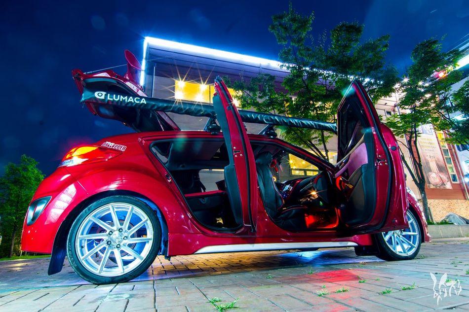 Night Illuminated City Transportation Futuristic Shiny Outdoors Sports Race Urban Road Fire Engine Sky No People