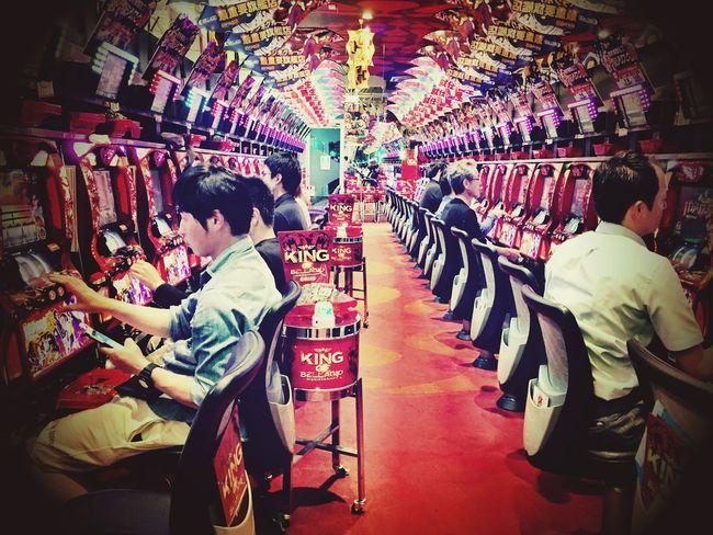 Pachinko (パチンコ) OSAKA Japan Osaka,Japan Osaka-shi,Japan Osaka 大阪 Pachinko Japanese  Japan Photography Japanese Culture Game Noisy IPhoneography Taking Photos Gambling Pinball Ultimate Japan People And Places