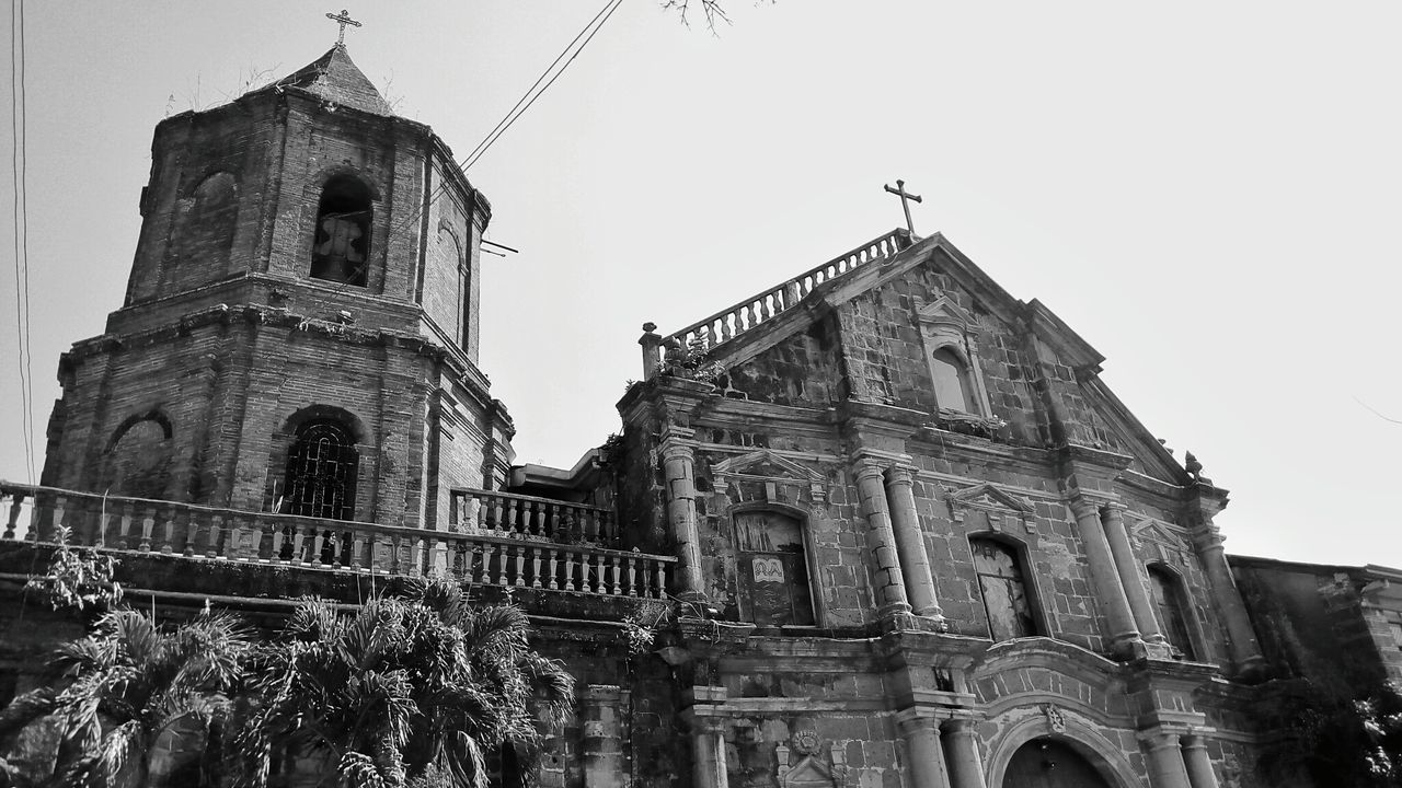 Pila,Laguna Church Philippines Church Front Old Church Heritage Site Eyeem Black And White Black & White EyeEm Black&white! Eye For Photography Cross Catholic Church Eyeem Philippines EyeEm Gallery