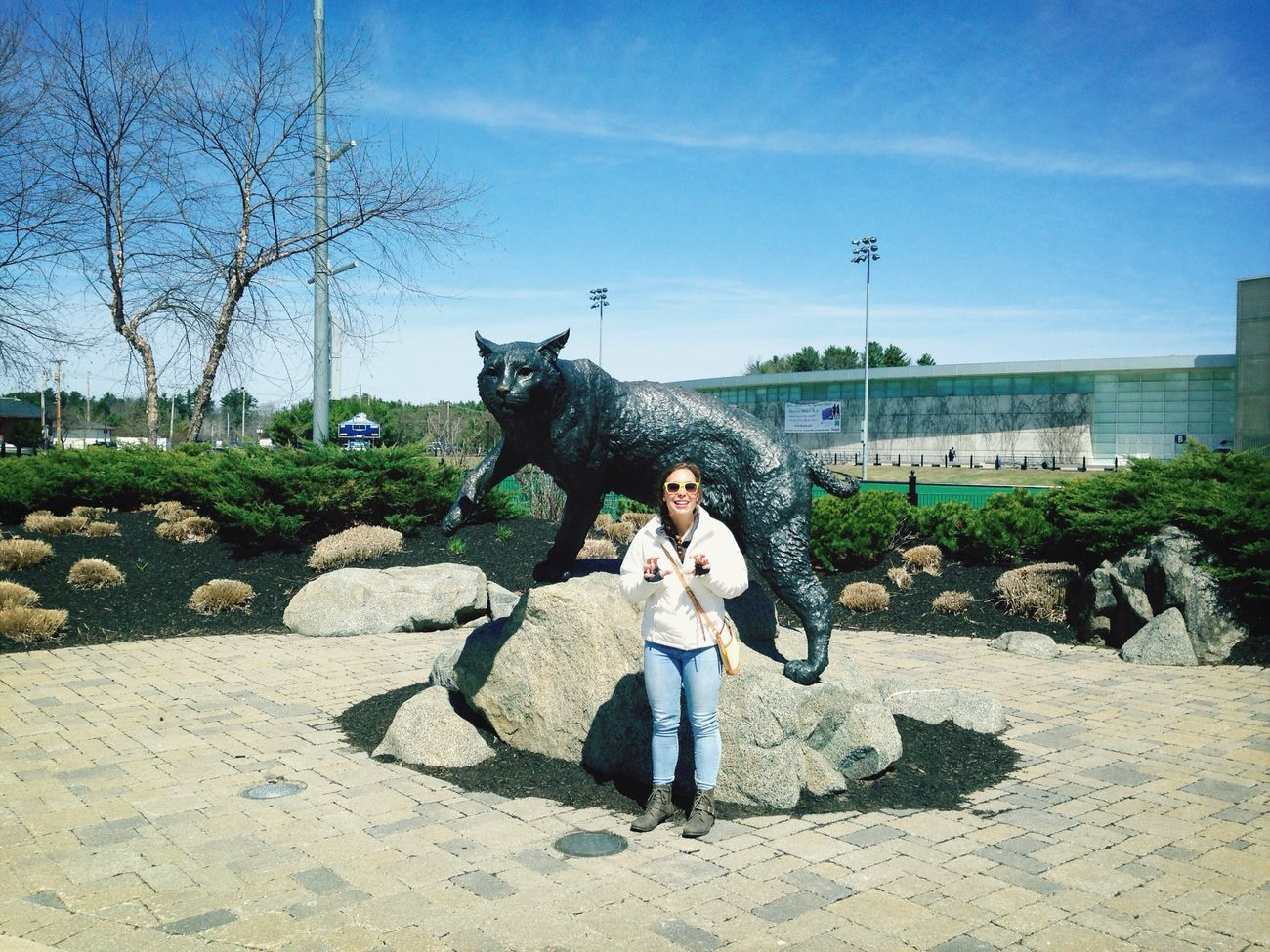 you gotta getcha head in the game-UNH wildcats!