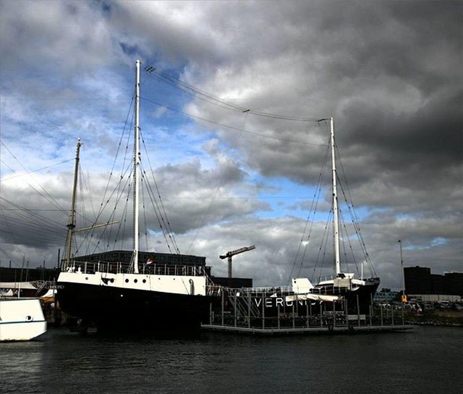 Veronica Veronica Amsterdam Boat Amsterdamnoord Ndsm Werf Photooftheday Photo Instagram Instagramers Music Like Love @canonnederland Your Amsterdam