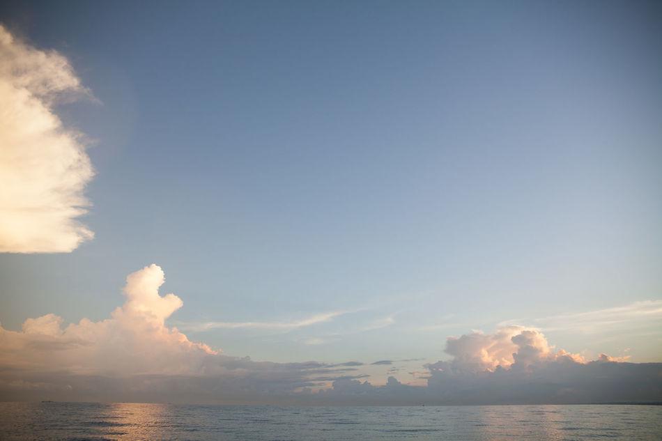 Beautiful stock photos of heaven, Beauty In Nature, Cloud, Horizon Over Water, No People