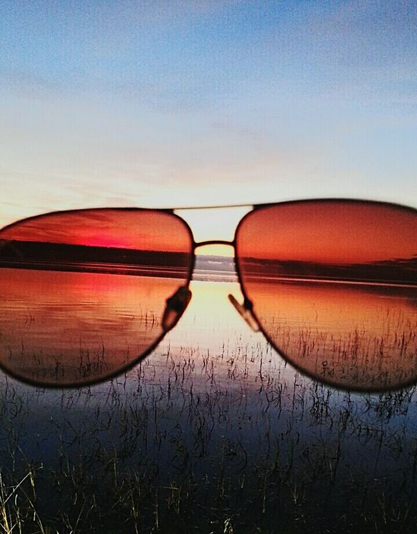 Vanishing Point Aviators Oceanview Sunset Photo Mission
