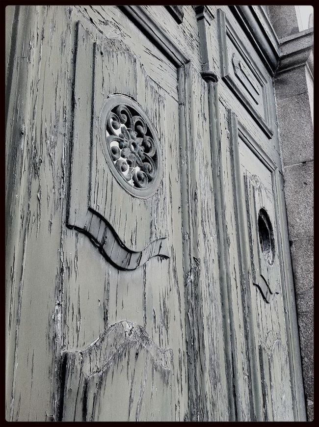 Taking Photos Old Door