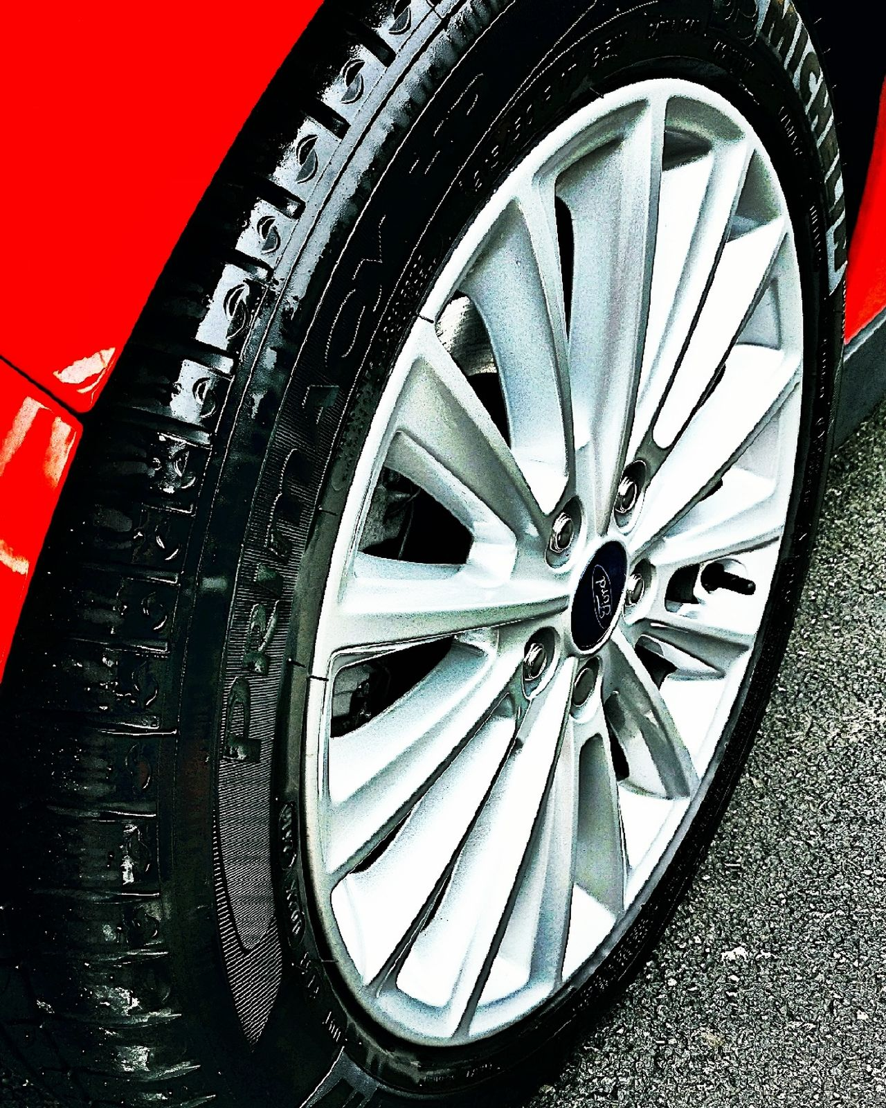 Tyre Car Close-up Clean Cleaning Outdor Time Wheel No People Low Angle View