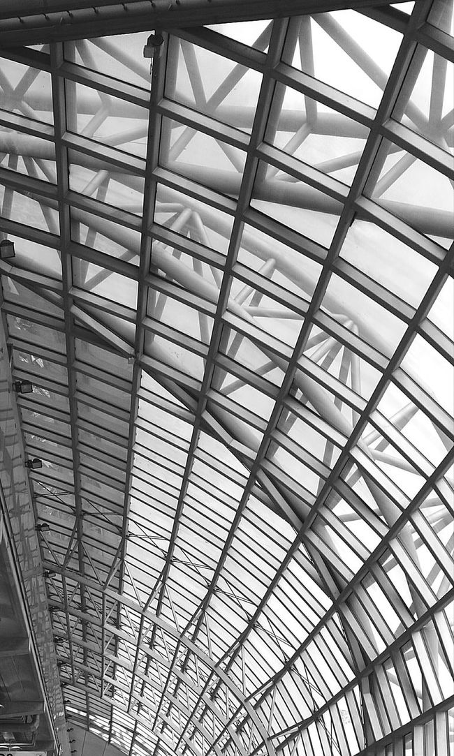 Swarnabhumi airport Pattern Indoors  Architecture Built Structure Ceiling Full Frame Backgrounds Roof Beam Skylight Day Architectural Feature Architectural Design Low Angle View Modern Design