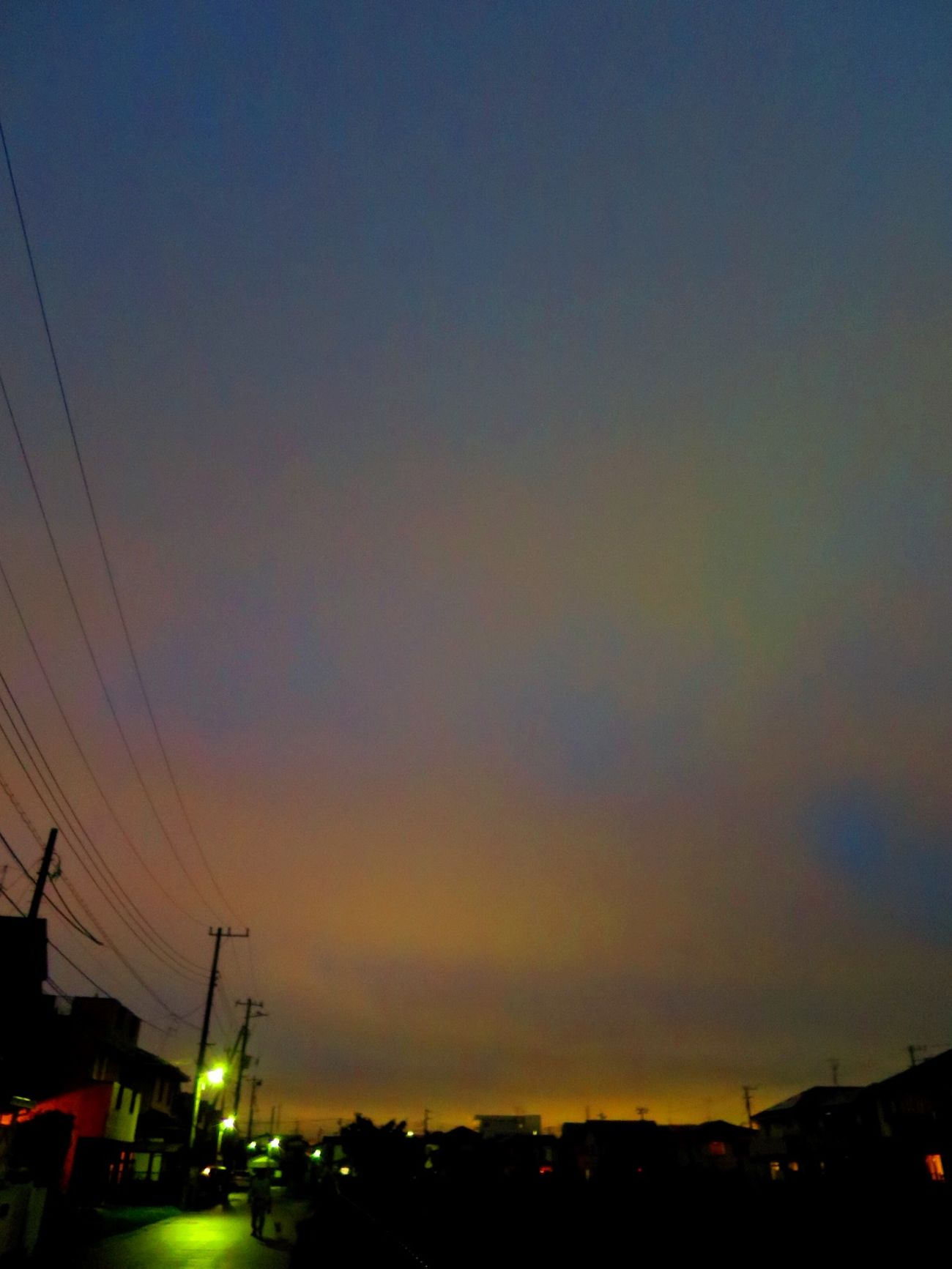 お疲れ様でした。 Sun Set Canon S120 Twilight Rain Day