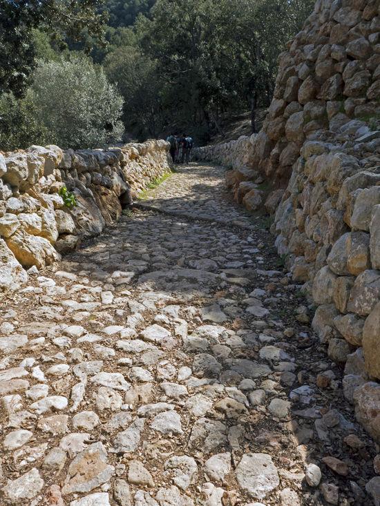 Baleares Broken Broken Stone Dry Dry Wall Esporles GR 221 Hiking Hiking Trail Mallorca Nature No People Note Rock - Object Serra De Tramuntana SPAIN Stone Target The Way Forward Wall