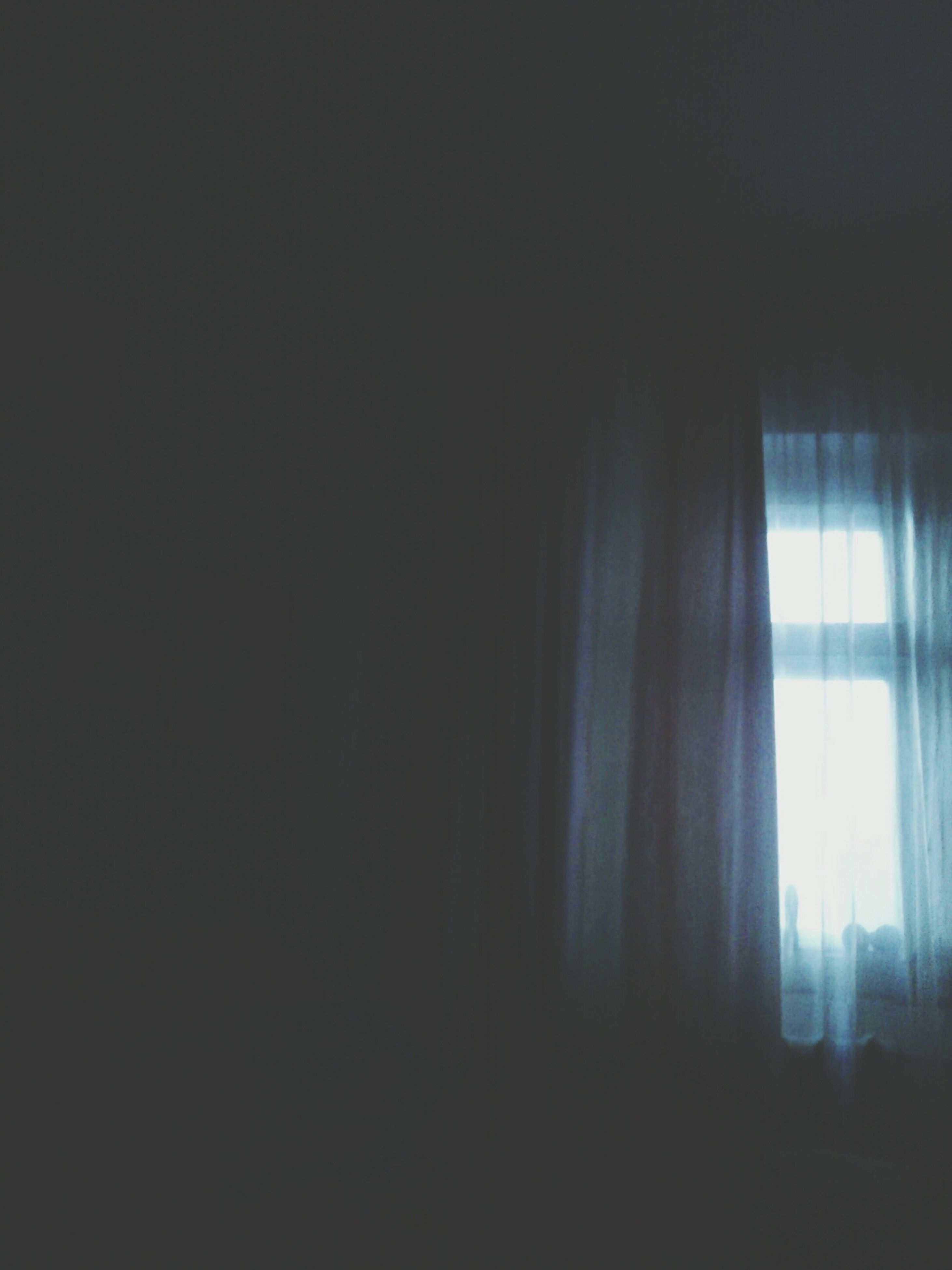 indoors, window, curtain, home interior, dark, built structure, copy space, sunlight, architecture, house, wall - building feature, glass - material, no people, transparent, day, wall, shadow, silhouette, absence, room