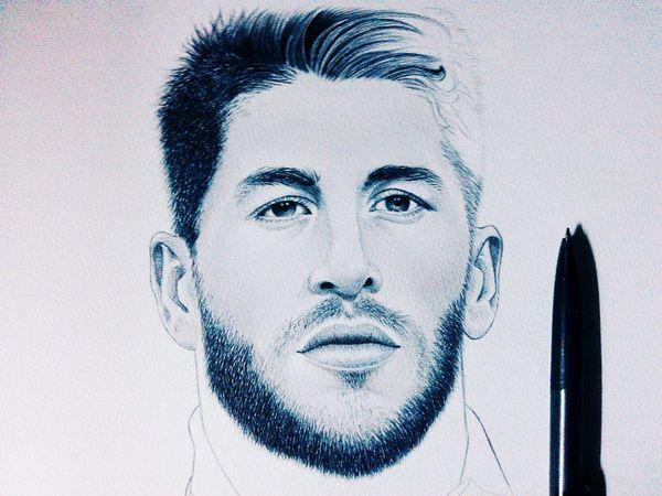 Taking Photos Enjoying Life Check This Out Daily Art Fabulous Football Sergio Ramos  Lovely Beard
