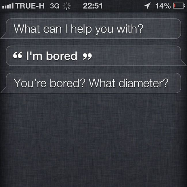 That awkward moment when you're soo bored that you have to turn to the power beyond yourself. Siri! And yes I was THAT #bored but what the heck, Siri? #wth #siri #siritalks Bored Siri WTH Siritalks
