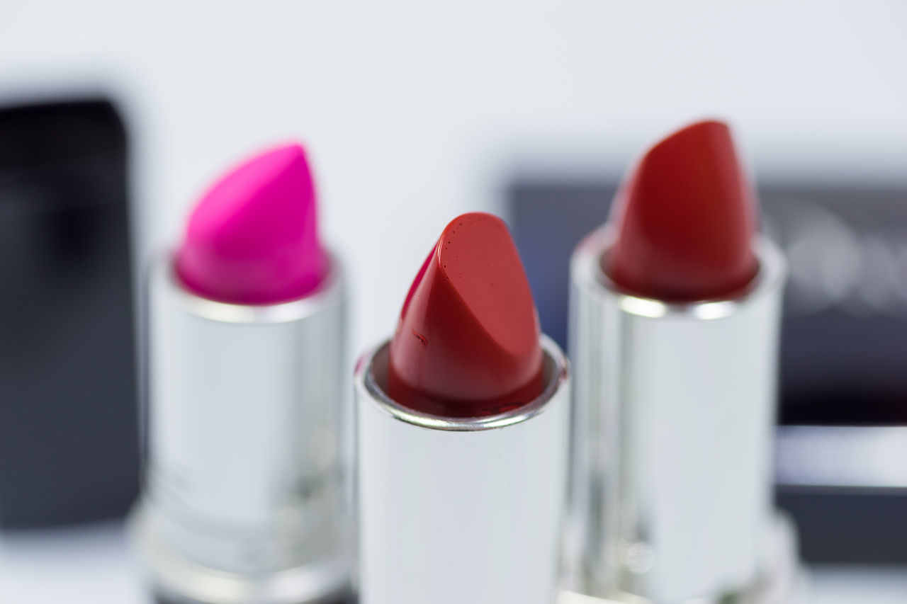 Close-Up Of Red Lipstick
