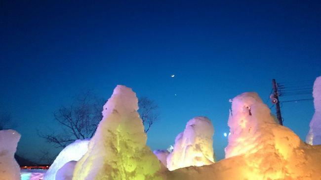Snow ❄ Cool Beutiful  Japan Hokaido Snow Shikotsuko 支笏湖 氷 Festival