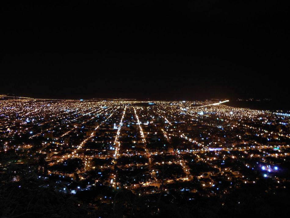 Architecture City Cityscape Illuminated Lookout Mountain Lookout Point Night Outdoors Sky
