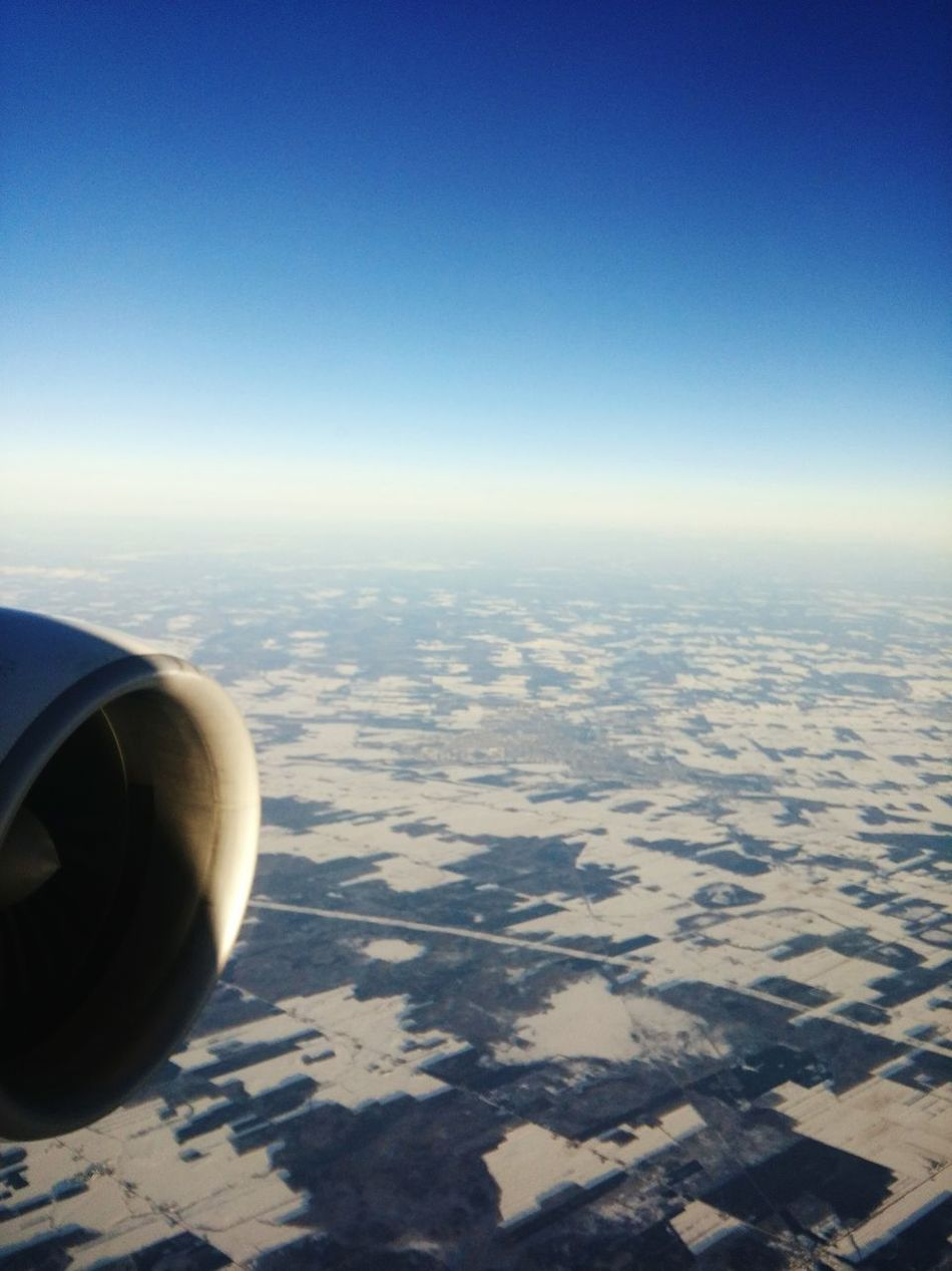 Flying High Airplane Aerial View LGg3photography LGG3 No People